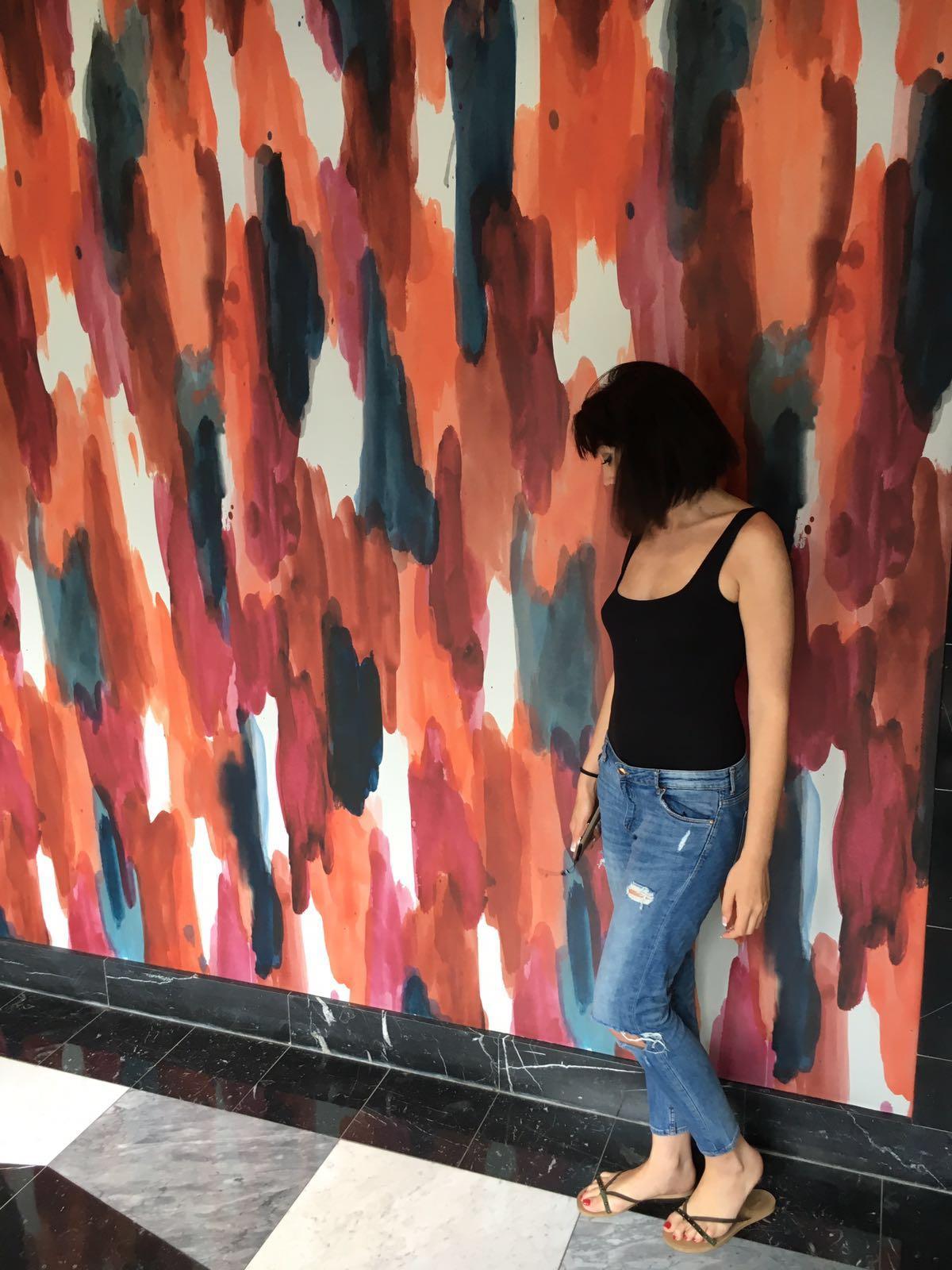 Photo de moi en jean