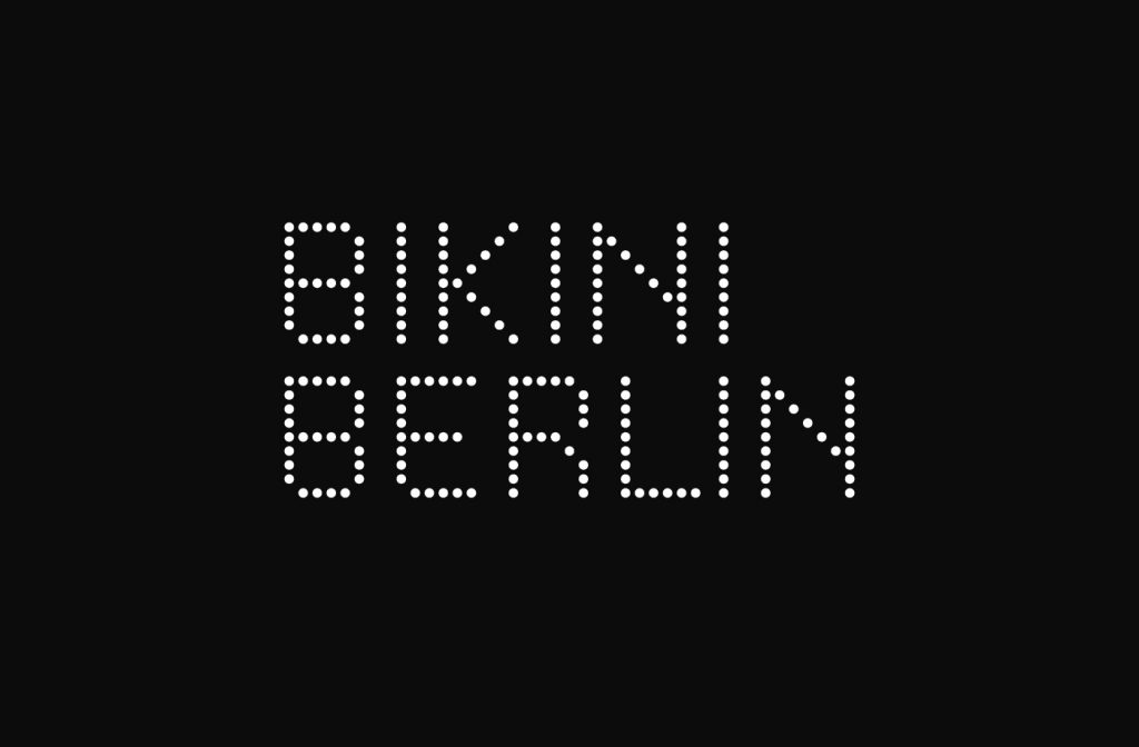 Logo noir et blanc Bikini Berlin