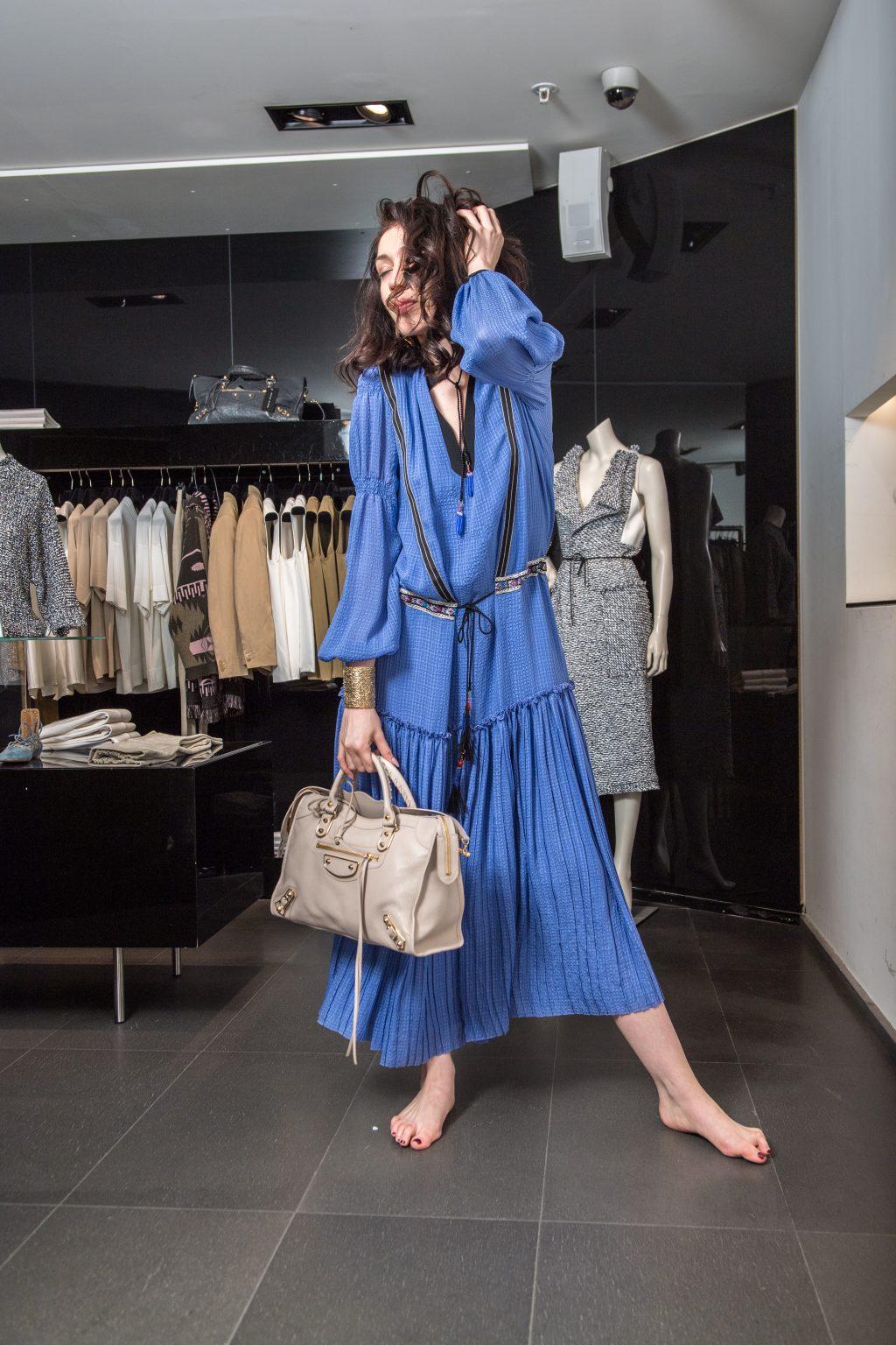 robe balanciaga lookbook