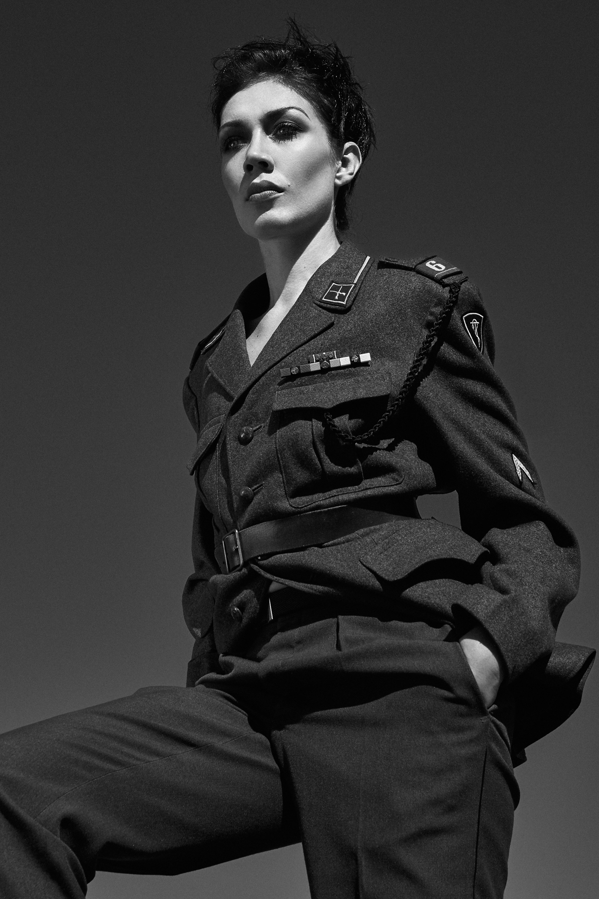 militaire photoshoot