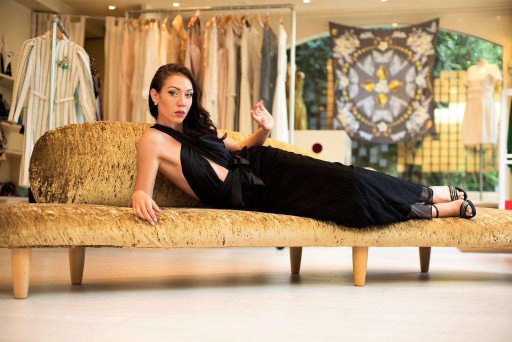 jessica choay look dress black