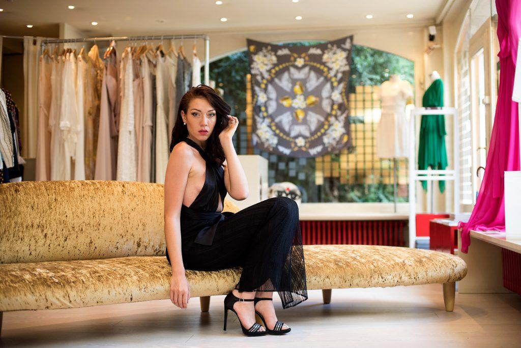 Jessica choay dress black style woman