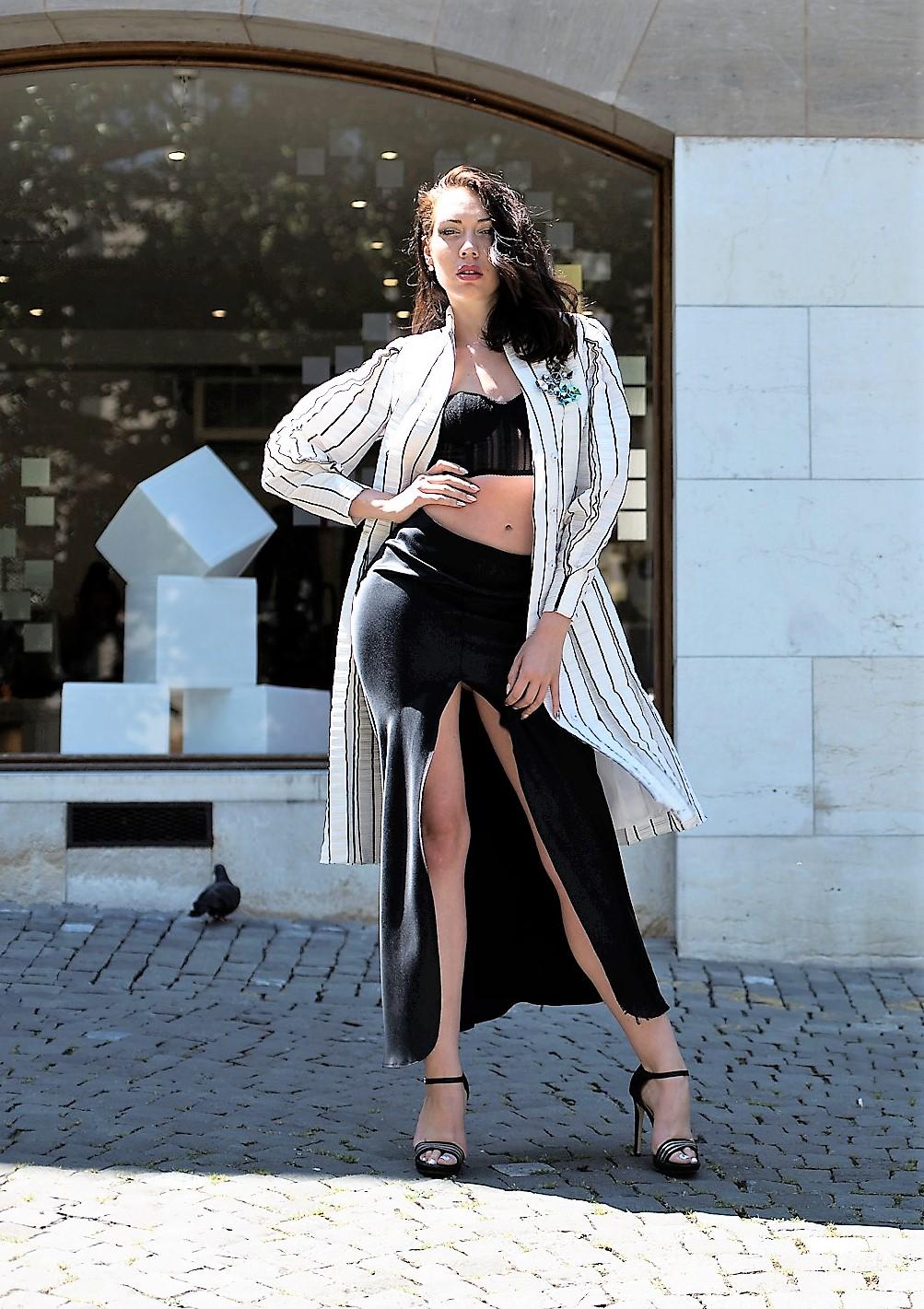fashion lookbook style woman candice maury
