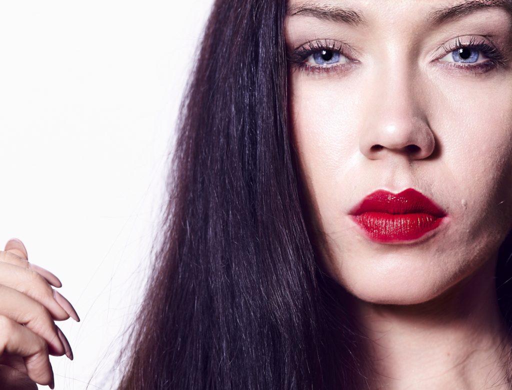 photo beauté lips portrait edito