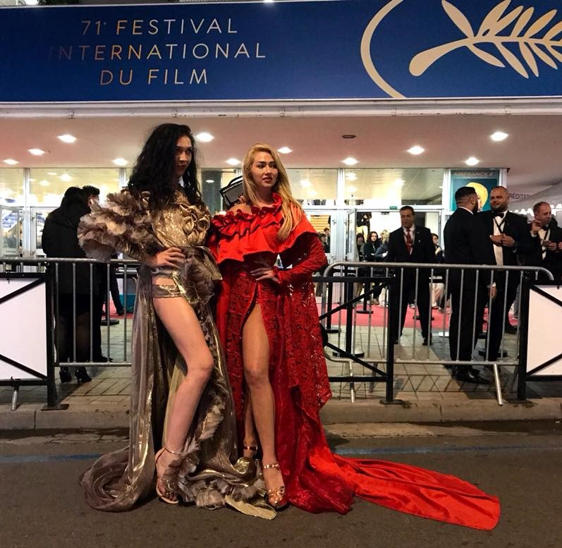 cannes festival 2018 haute couture dress red carpet