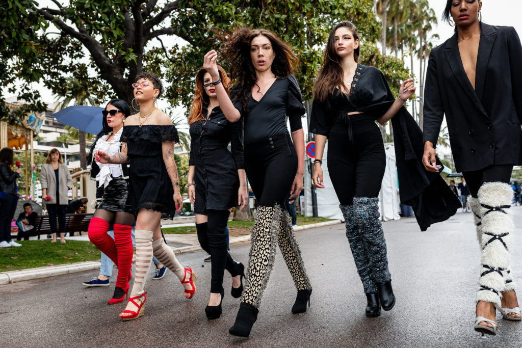 accessoire à chaussure pimp up girls gang fashion